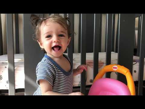 Baby Infant Toy Demo Review | Fisher-Price Stroll Learn Walker Pink | 9 10 11 12 Months Old