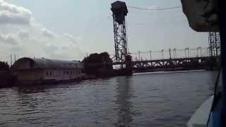 Калининград. Экскурсия по Преголе. Начало.(Водная эксурсия по реке Преголе в Калининграде. 1 часть