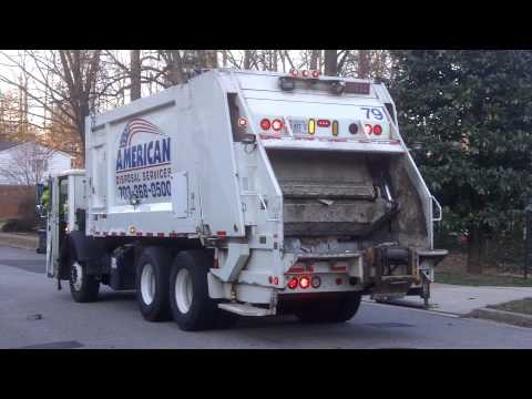 American Disposal Truck 79