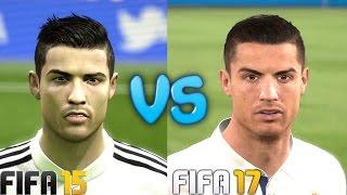 FIFA 17 vs FIFA 15 Head to Head Comparison 4K Max Quality