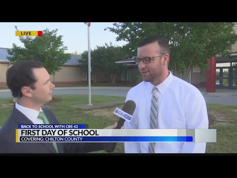 First Day Of School At Jemison Elementary