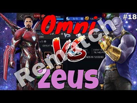 AW S2 #18: Omni Vs Zeus (Round 2)  l  Marvel Contest Of Champions