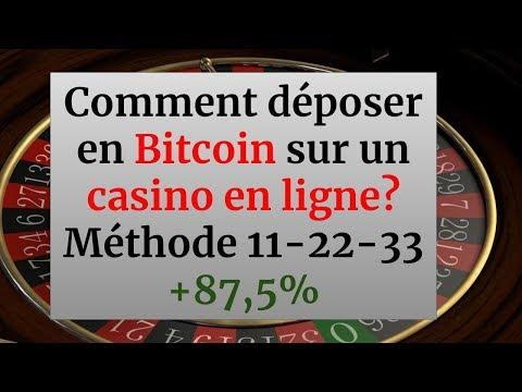 Comment Déposer En Bitcoin Sur Un Casino? Méthode Roulette +87,5% En 10 Minutes