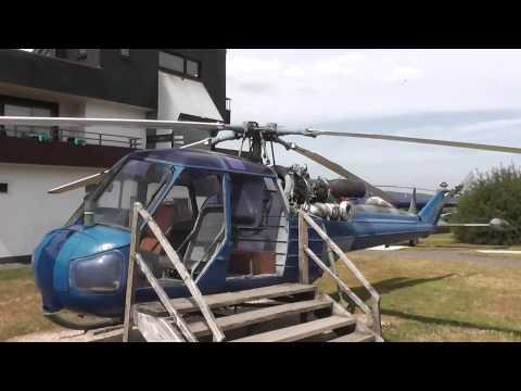 Westland Scout helicopter at Flugausstellung Hermeskeil