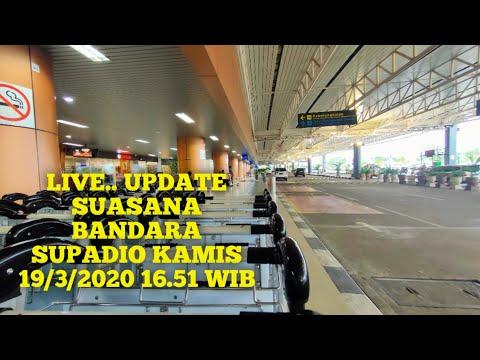 live..-update-suasana-bandara-supadio-kamis-19/3/2020-16.51-wib