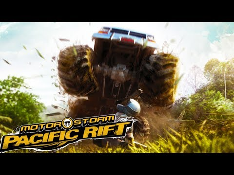 INSANE HIGH SPEED OFF-ROAD VEHICULAR COMBAT RACING! - MotorStorm Pacific Rift Racing and Crashes