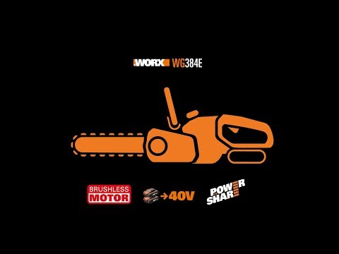 40v 0 W Orange Black Worx Tagliasiepi WG268E