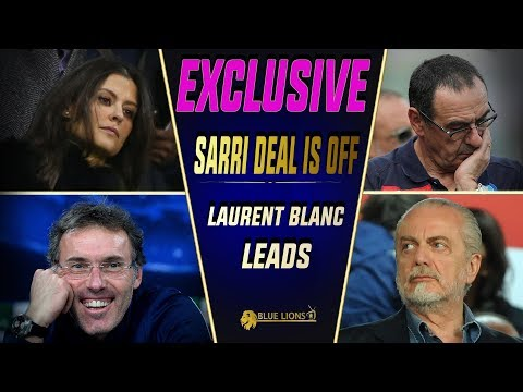 THE DEAL FOR SARRI IS OFF ||  BLANC LEADS CHELSEA JOB || Chelsea Transfer News