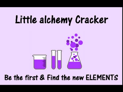 Little alchemy cracker find the element that holds you from