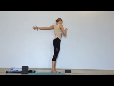 Yin Yoga - Wall Sequence