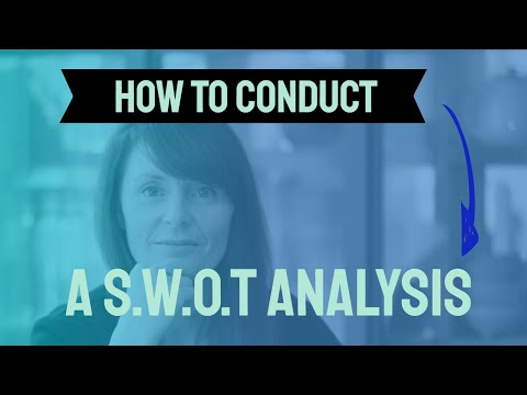 How to conduct a career SWOT analysis