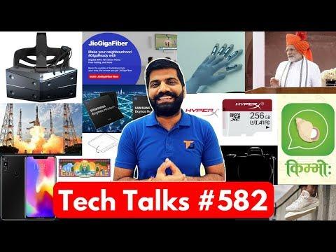 Tech Talks #582 - Giveaway Results, Samsung 5G Modem, Motorola P30, Gaganyaan, Kimbho App