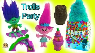 Surprise Toy Bag - Party With Dreamworks Trolls Poppy, Branch, & DJ Suki with LPS
