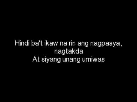 Di mo na mababawi lyrics - Spongecola