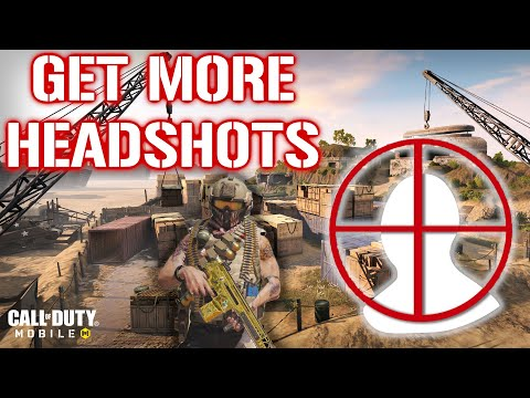 FASTEST Way to Get Head Shots in Call of Duty Mobile (Tips & Tricks)