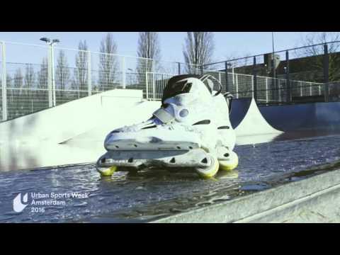 USWA athlete profile: Sven Boekhorst - Inline skater