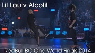 Lilou vs Alkolil // .stance // Red Bull BC One World Finals 2014
