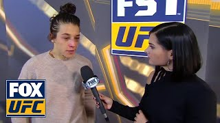 Joanna Jedrzejczyk speaks after loss to Valentina Shevchenko | INTERVIEW | UFC 231