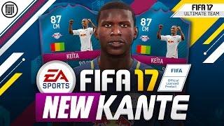 fifa 17 fif 87 keita crazy stats new kante fifa 17 ultimate team