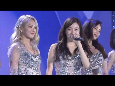 "161126 SNSD 소녀시 ""LION HEART - PARTY - HOOT"" performance WebTV Asia Awards 2016"