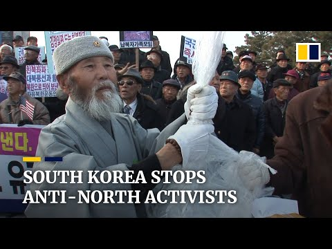 South Korea takes legal action against anti-North Korea acti