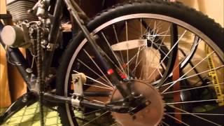 Сборка велосипеда с двигателем f-72(Видео о установке двигателя на велосипед. В конце небольшой тестдрайв)) Хотел снять полностью процесс сборк..., 2015-12-02T11:35:45.000Z)