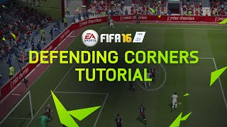 FIFA 16 Tutorial - Defending Corners