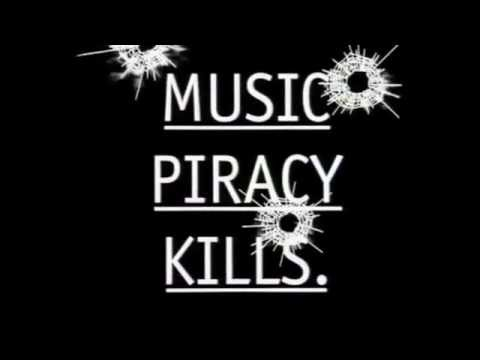 """Music Piracy Kills"" circa 1999"