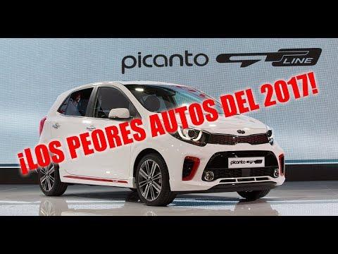 8 PEORES AUTOS DEL 2017