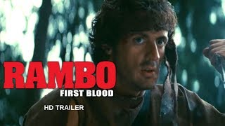 Gambar cover RAMBO First Blood REMASTERED (1982)  Trailer #1 - Sylvester Stallone