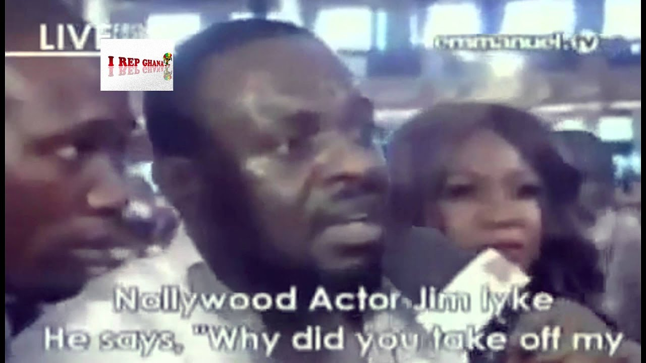 Download Jim Iyke's Deliverance From The Devil (Shocking Video!) @ TB Joshua's Synagougue Church