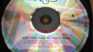 "Mary J. Blige ""Just Fine (Treat"