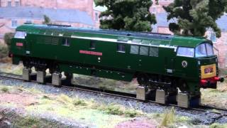 Heljan Western Class 52 with YouChoos DCC sound