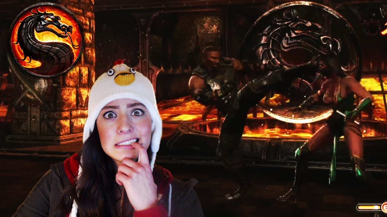 Mortal Kombat 9 Gameplay - Chapter 6 - Jax vs Jade - YouTube