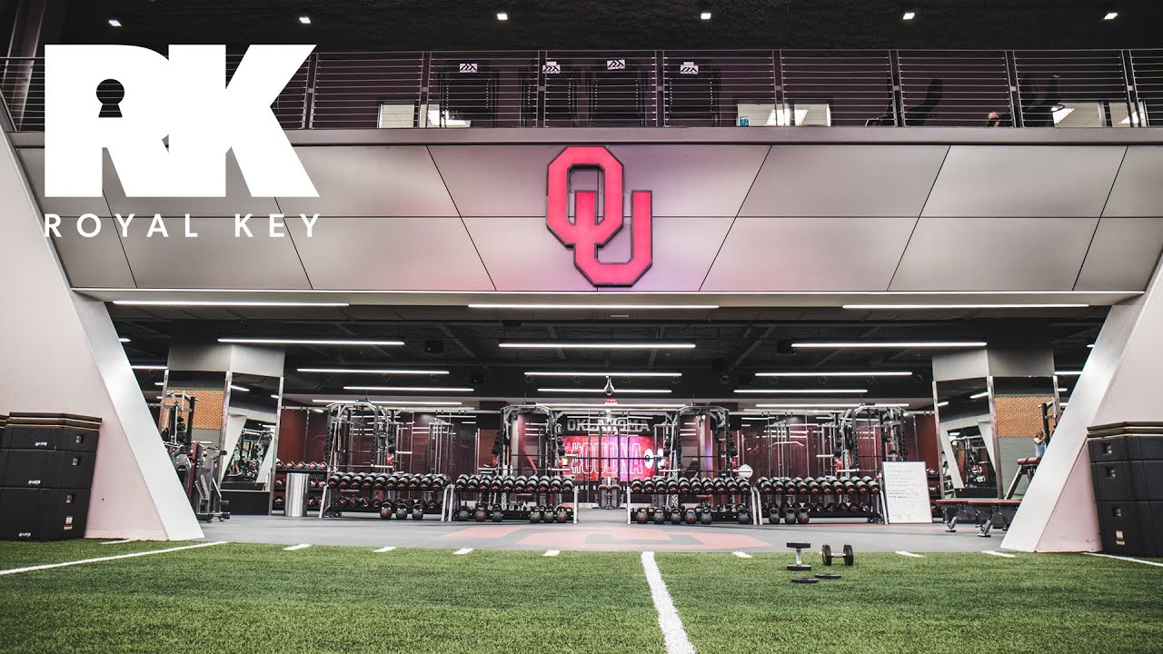 We Toured the Oklahoma Sooners' Amazing Football Facility & Sneaker Equipment Room | Royal