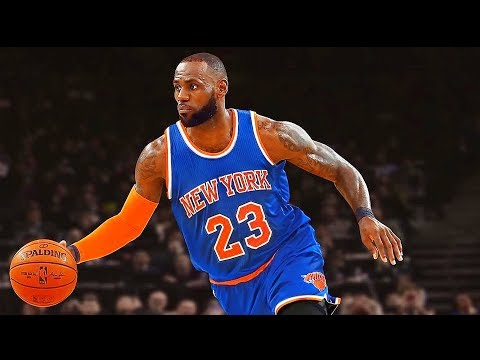 LeBron James Joining Knicks!? LeBron James responds to Blake Griffin Knicks Comments