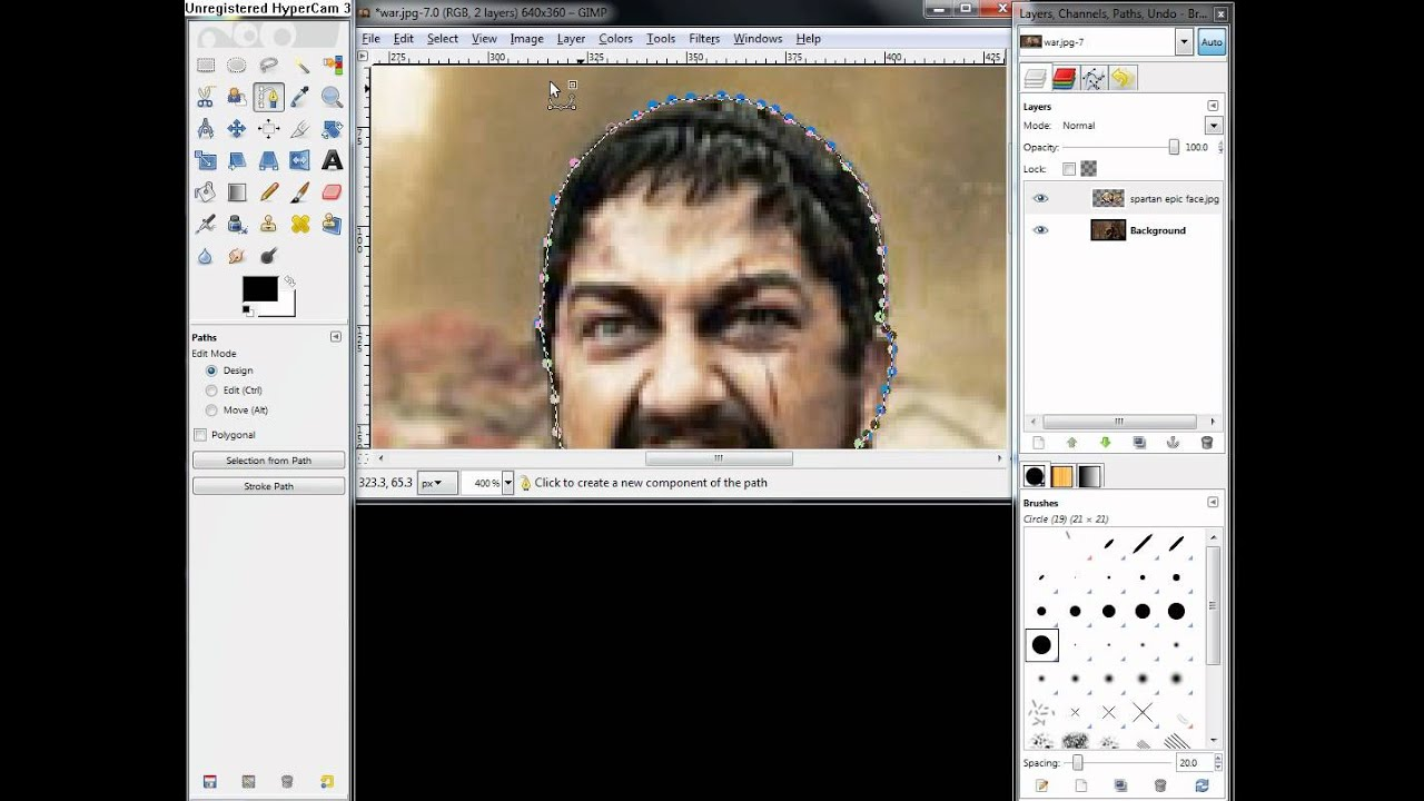2 Gimp Tutorial How To Combine Two Pictures Together Using Gimp