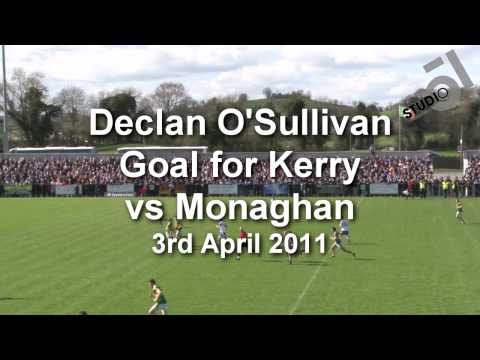 Declan O'Sullivan Goal v Monaghan