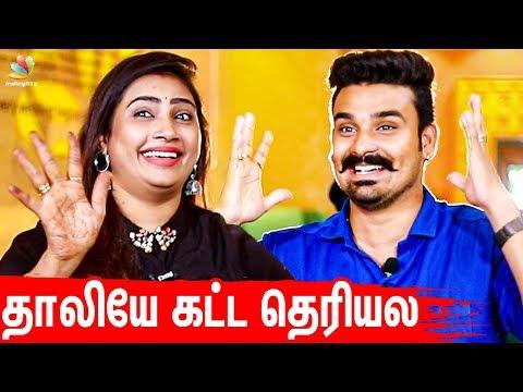 Daily HoneyMoon தான் 💕| Myna Nandhini Yogeshwaran First Interview After Marriage | Vijay Tv