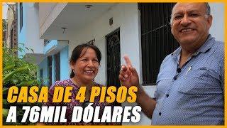 Adquirió una casa de 4 pisos a 76mil Dórales