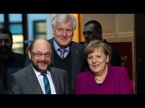 Nach Marathon-Verhandlungen: Union und SPD über Koalition einig