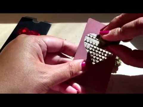 The V. Syndicate Pink Heart Grinder Card