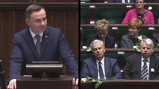 Tymi słowami Prezydent zdenerwował Platformę i Nowoczesną - PO i .N krzyczą podczas ZN