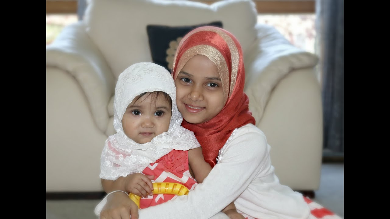 A cute video on how Maryam is inspiring her baby sister Fatima #1
