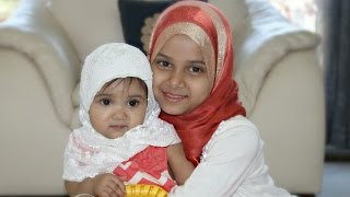 A cute video on how Maryam is inspiring her baby sister Fatima
