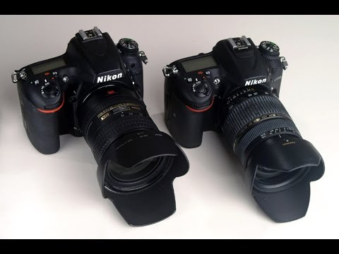 Nikon D7200 vs D750 - Image Sharpness Competition Part 2