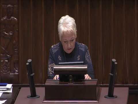 Magdalena Kochan  – wystąpienie z 22 listopada 2017 r.