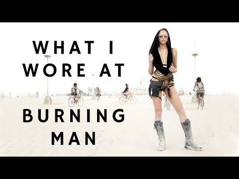 What I Wore at Burning Man and Packing Tips
