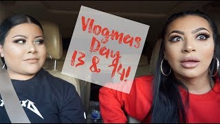 VLOGMAS DAY 13 & 14- WE GOT STUCK IN THE CAR WASH!!!