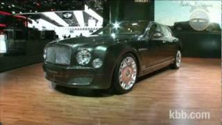 Bentley Mulsanne Auto Show Video - Kelley Blue Book